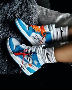 How to get Nike Off-White Air Jordan 1 Blue trainers How . - How to get Nike Off-White Air Jordan 1 Blue trainers How to get Nike Off-White Air Jordan 1 Blue trainers Moda Sneakers, Sneakers Mode, Blue Sneakers, Shoes Sneakers, Women's Shoes, Shoes Style, Vans Style, Yeezy Shoes, Jordan Retro