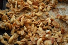 The smell of granola baking is one of my favorites.