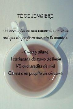 receta te de jengibre #dietasana