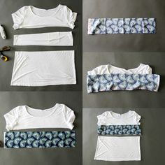30 Inspiration Picture of Sewing Upcycle Clothes . Sewing Upcycle Clothes Lengthen A T Shirt The Sewing Rabbit Upcycle T Shirts, Diy Clothes Refashion, Shirt Refashion, T Shirt Diy, Revamp Clothes, Diy Kleidung Upcycling, Diy Summer Clothes, Sewing Alterations, Clothing Alterations