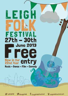 I am totally chuffed to be playing at The Leigh Folk Festival this summer. I went along last year to see my disgustingly talented friend Tim Graham play and had an absolute blast. It is the biggest…