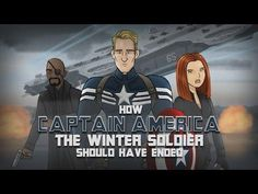 How Captain America - The Winter Soldier Movie Should Have Ended - #funny #CaptainAmerica #movie