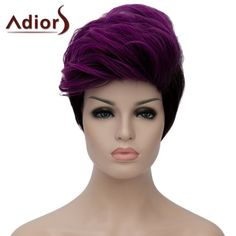Fluffy Adiors Heat Resistant Synthetic Short Wig For Women #>=#>=#>=#>=#> Click on the pin to check out discount price, color, size, shipping, etc. Save and like it!
