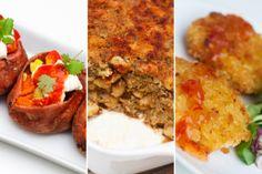 UKEMENY: Søtpotettaco, pastagrateng og risottokaker står på menyen denne uken.