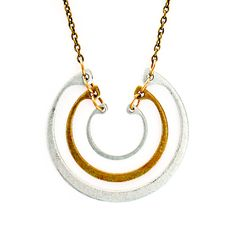 Tiered Ring Necklace
