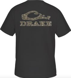 b700ec1a068c2 Drake Camouflage Logo Tee S/S Hunting Waders, Duck Hunting, Hunting Gear,
