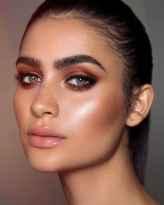 Contour Makeup, Glam Makeup, Makeup Geek, Skin Makeup, Makeup Inspo, Bridal Makeup, Makeup Inspiration, Makeup Tips, Beauty Makeup