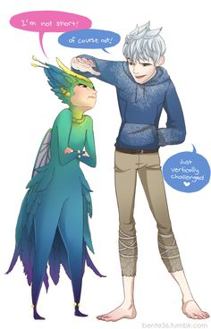 Am I the only one who's not shipping Jack and Elsa but Jack and Tooth Fairy?< They're both cute Jack Frost ships. Dreamworks Movies, Disney And Dreamworks, Disney Pixar, Disney Tangled, Disney Love, Disney Art, Punk Disney, Disney Ideas, Disney Girls