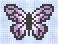 Melty Bead Patterns, Perler Patterns, Beading Patterns, Cross Stitch Bookmarks, Cross Stitch Art, Cross Stitch Patterns, Easy Pixel Art, Pixel Art Grid, Hamma Beads Ideas