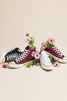 Festival season is here. Round out your look in our collection of festival must-haves at Converse.com Outfits With Converse, Converse All Star, Clothing Photography, Fashion Photography, Festival Must Haves, Foto Still, Fashion Shoes, Fashion Accessories, Shoes Photo