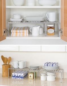9 Simple Hacks That Will Add More Storage Space To Your Tiny Kitchen