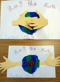 Earth day craft! Cute!