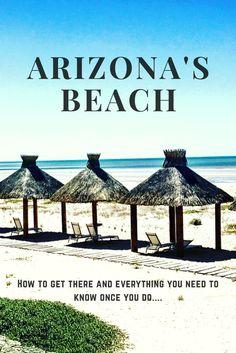 Arizona's Beach; also know. As Rocky Point, Mexico is a dreamy little beach