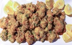 Oven Fried Oysters — Good Food Makes Me Happy! Informations About Oven Fried Oysters — Good Food Makes Me Happy! Shellfish Recipes, Seafood Recipes, Appetizer Recipes, Cooking Recipes, Appetizers, Ww Recipes, Dinner Recipes, Fresh Oysters, Seafood