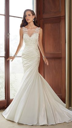 Designer Wedding Dresses by Sophia Tolli www.TiffanysBridals.com