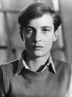 "Annemarie Schwarzenbach, muse of photographer Marianne Breslauer. Marieanne said of her, ""She's neither a man nor a woman, but an angel, an archangel"". She manages to capture that essence in this photo. Love this image."
