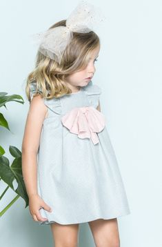 Buy Aquamarine polkadot dress with bloomers and many more Outlet clothes from a variety of brands such as Nanos online today at Angelibebe Singapore.