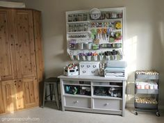 How to Make a Giant Peg Board for Craft Organization - This project had been on my to do list for along time. I am so excited to get this baby checked off! Pegboard Storage, Craft Storage, Storage Ideas, Ribbon Storage, Storage Solutions, Storage Closets, Basement Storage, Creative Storage, Record Storage