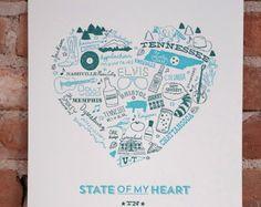 State of My Heart TN Art Print