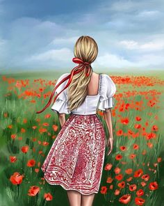 Alone Girl, Create Drawing, Illustration Artists, Female Art, Girl Photos, Poppies, Girly, Hipster, Anime