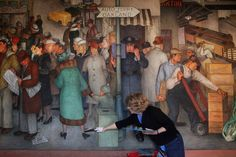 Coit Tower mural restoration infuses S.F. landmark with color