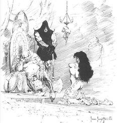 """""""Executioner"""" Sketch 1955"""
