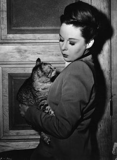 Susan Hayward and Bessie 1946