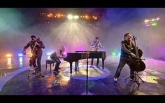"""The Piano Guys (previously) recently performed an instrument-swapping mashup of """"Ants Marching"""" by Dave Matthews Band and Beethoven's classic """"Ode to Joy"""" on two cellos and a piano in one impressiv..."""