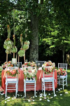 Southern Bridal Luncheon. Created by Lillie's, photo by fotowerks as seen in Alabama Weddings Magazine.
