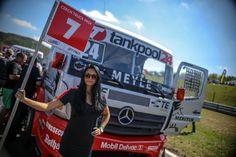 nice #pitlane at #fia #etrc #czechtruckprix 2015 - #rolandrehfeld #mercedesbenz #truckrace #trucker