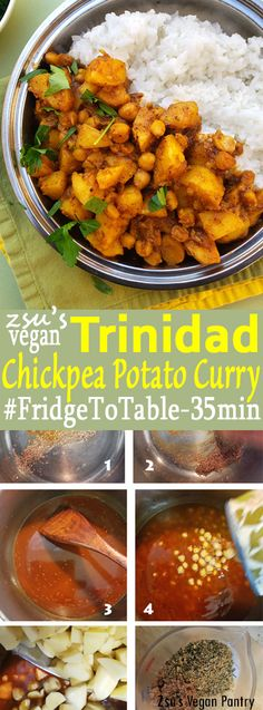 Zsu's Vegan Pantry: trinidad chickpea and potato curry