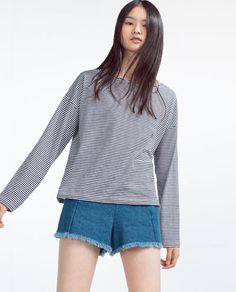 Image 2 of BOATNECK TOP from Zara