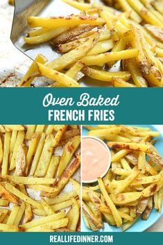Bhg Recipes, Side Dish Recipes, Veggie Recipes, Easy Dinner Recipes, Appetizer Recipes, Chicken Recipes, Appetizers, Oven Baked French Fries