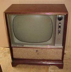 Image result for image of 1959 television