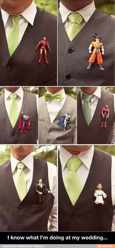 Something cute and funny for that special day for the groom/groomsmen!