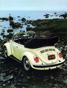 1971/72 US Super Beetle Sedan and Convertible.... So much personality. Love it.
