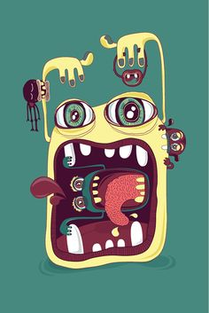 omnomsters on Behance