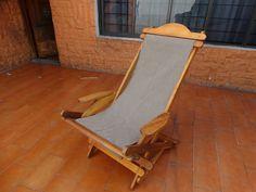 silla peresoza plegable asiento de lona esta silla funciona como mecedora