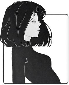 Reminds me of myself.. the haircut, turtleneck and face shape ❤️