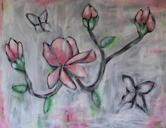 """Pink Magnolias"" by Juliana Forster"