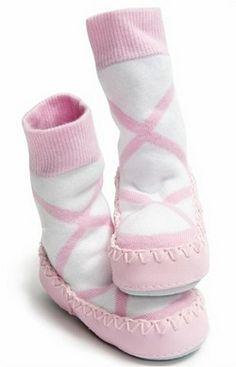 1617e2af7b5b4 Sock Ons Mocc Ons - Moccasin Style Slipper Socks · Chausson FourréChausson  Bébé FilleChaussons ...