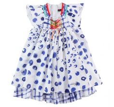 CATIMINI Printed percale dress via bonnie tsang