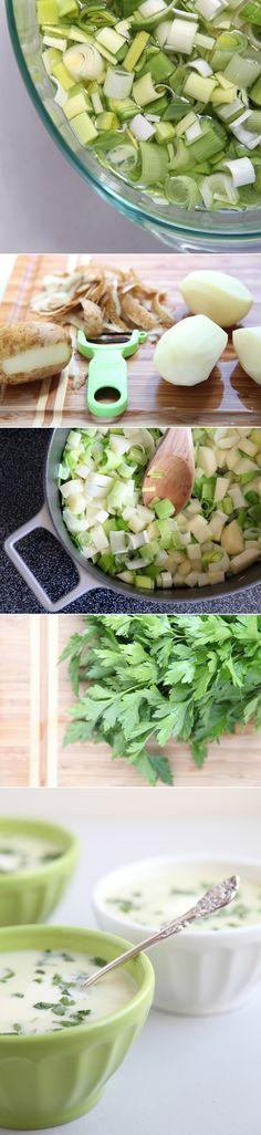 Julia Child's Potato Leek Soup Recipe
