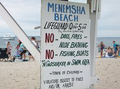 Menemsha Beach, Martha's Vineyard - The perfect beach for our family!