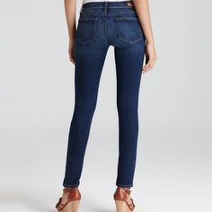 Vintage Style PAIGE Skinny Jeans! Great condition! 9/10. Goes well with anything and great for any occasion. Definitely hugs and fits well with your body. Paige Jeans Jeans Skinny