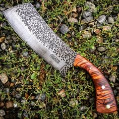 Forging Knives, Forged Knife, Bushcraft Knives, Cool Knives, Knives And Swords, Router Wood, Wood Lathe, Cnc Router, Axe Handle