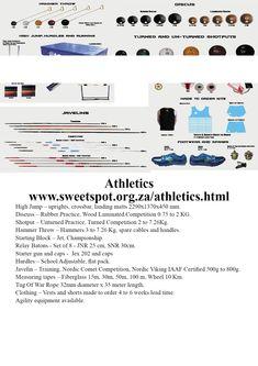 Athletics - an all year sport Hammer Throw, Shot Put, Netball, High Jump, Sports Equipment, Athletics, Competition