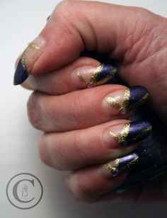 Thulian In Wonderland: New year nails
