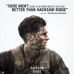 See the film that has critics raving. #HacksawRidge arrives in theaters November 4!