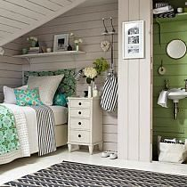 Elegant Picture of Attic Bedroom Design Ideas. Yes, by thinking about the size of the attic space, it might only be enough for you to make a bedroom there yet with no question, in the event the siz. Modern Chic Bedrooms, Beautiful Bedrooms, Beautiful Beds, Attic Renovation, Attic Remodel, Home Bedroom, Bedroom Decor, Bedroom Ideas, Bedroom Girls
